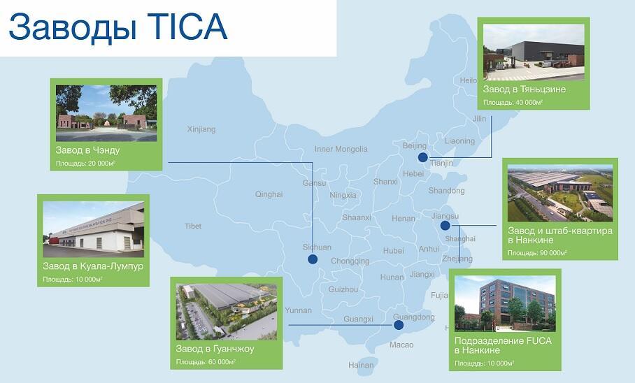 tica factories