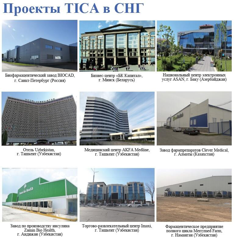 tica projects in cis