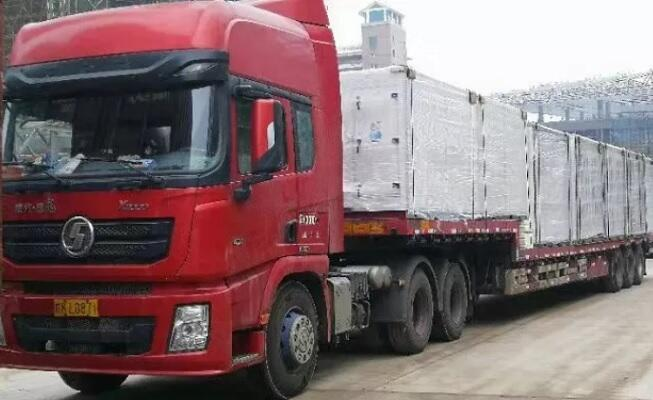 truck with ahu