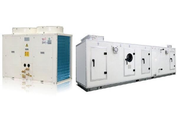 Компрессорно-конденсаторный блок и приточная установка
