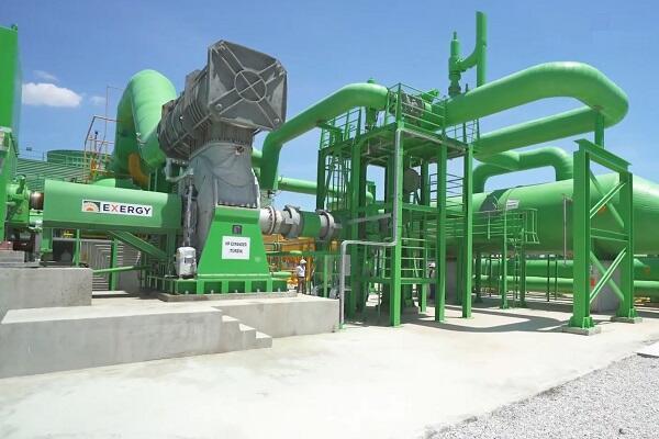 Электростанция в Сарайкое (Турция), спроектированная Exergy
