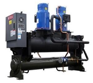 Модульный чиллер с водяным охлаждением TWS
