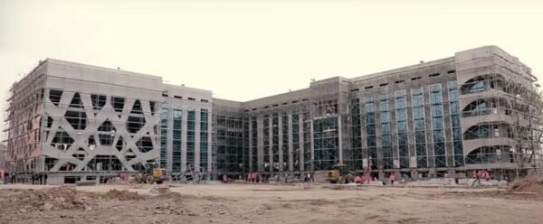 Самая крупная инфекционная больница в Центральной Азии