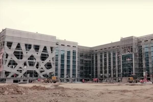 Инфекционная больница в Ташкенте