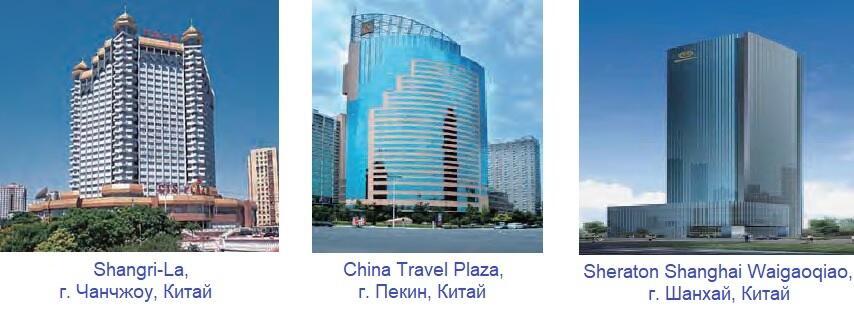 Отели, оснащенные климатическим оборудованием TICA