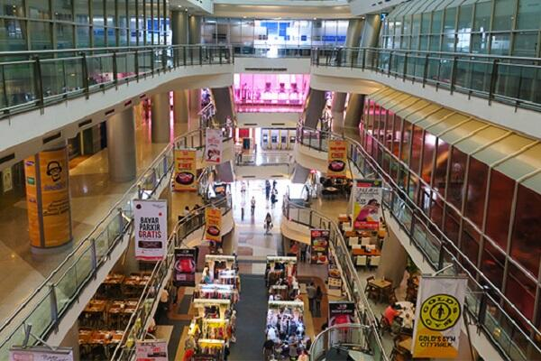 Торговый центр Citywalk Sudirman в Джакарте (Индонезия)