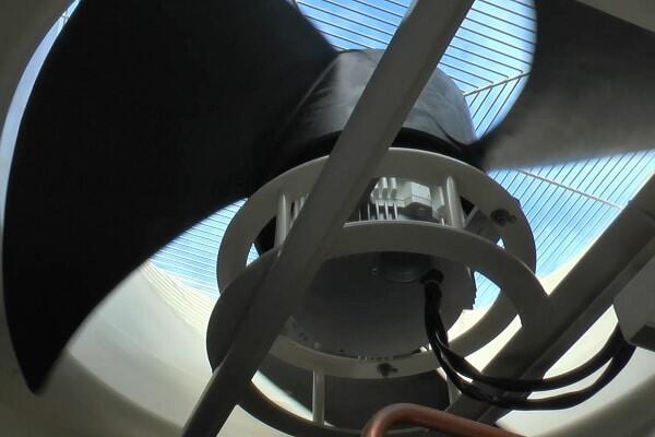 Вентилятор наружного блока