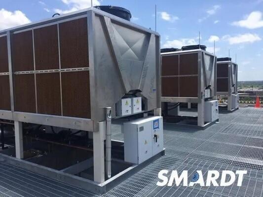 Безмасляные чиллеры с воздушным охлаждением SMARDT