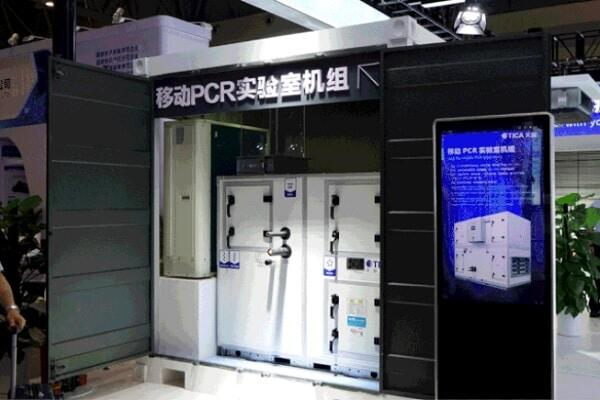 Приточно-вытяжная установка для передвижной ПЦР-лаборатории