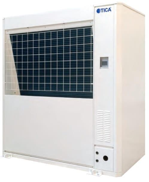 Тепловой насос (воздух - вода) на CO2