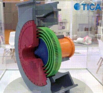 Радиально-осевая турбина