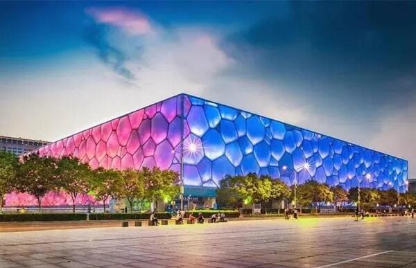 Пекинский национальный плавательный комплекс (Водяной куб)