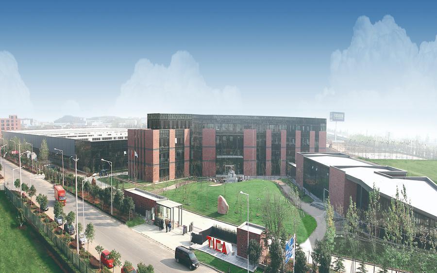 Производственная база TICA в Нанкине