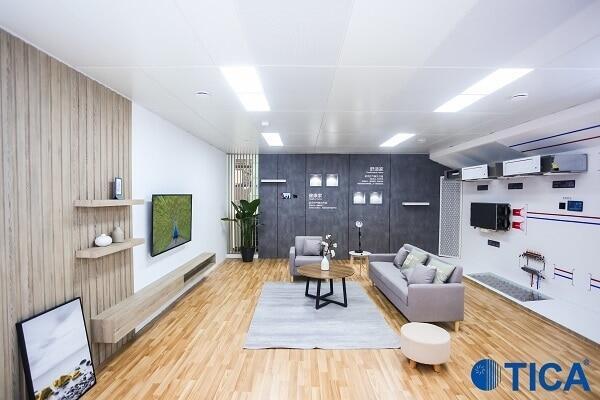 Бытовая система кондиционирования для гостиной