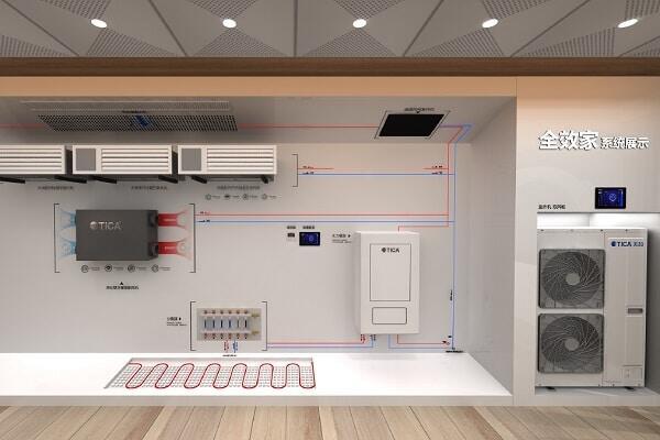 Бытовая система кондиционирования TICA All Features Air Conditioning System