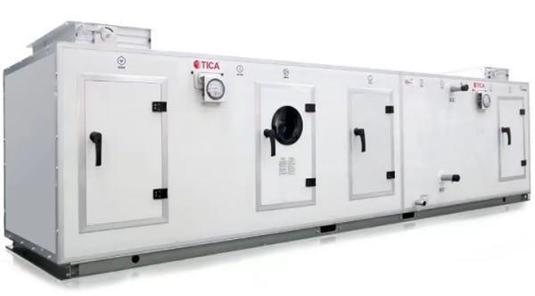 Секционная приточно-вытяжная установка компании TICA