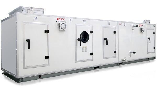Секционные вентиляционные установки премиум-класса