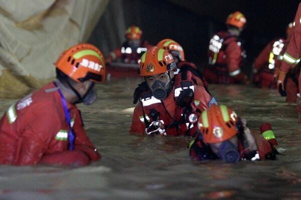 Спасательные работы при наводнениях