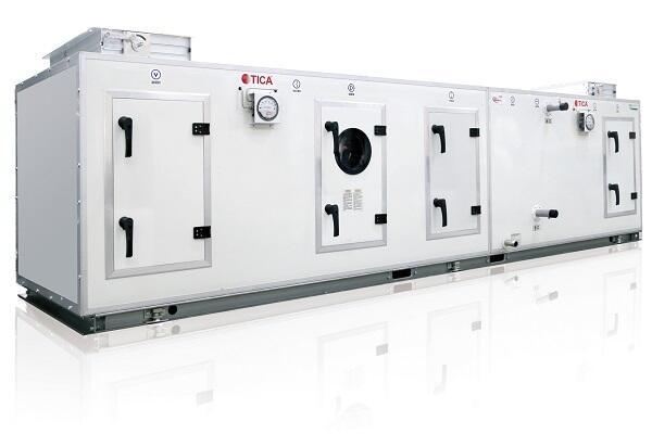 Секционная вентустановка серии TBC от компании TICA